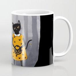 The Halloween Twins in Orange Coffee Mug