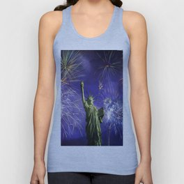 Independence Fireworks Unisex Tank Top