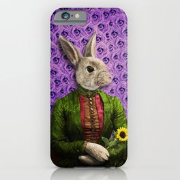 Miss Bunny Lapin in Repose iPhone Case