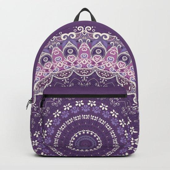 Purple Lace Mandala by kirstenstar