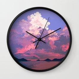 Daunting Wall Clock