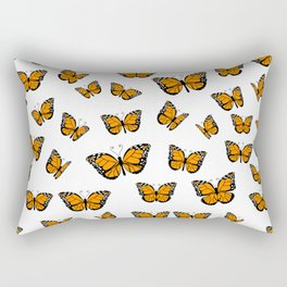 Papillons Rectangular Pillow