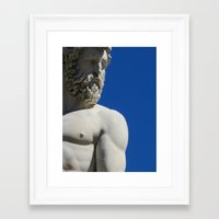 florence Framed Art Prints featuring FLORENCE by MARK HOPKINS PHOTOGRAPHY MIAMI