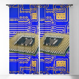 processor cpu board circuits Blackout Curtain