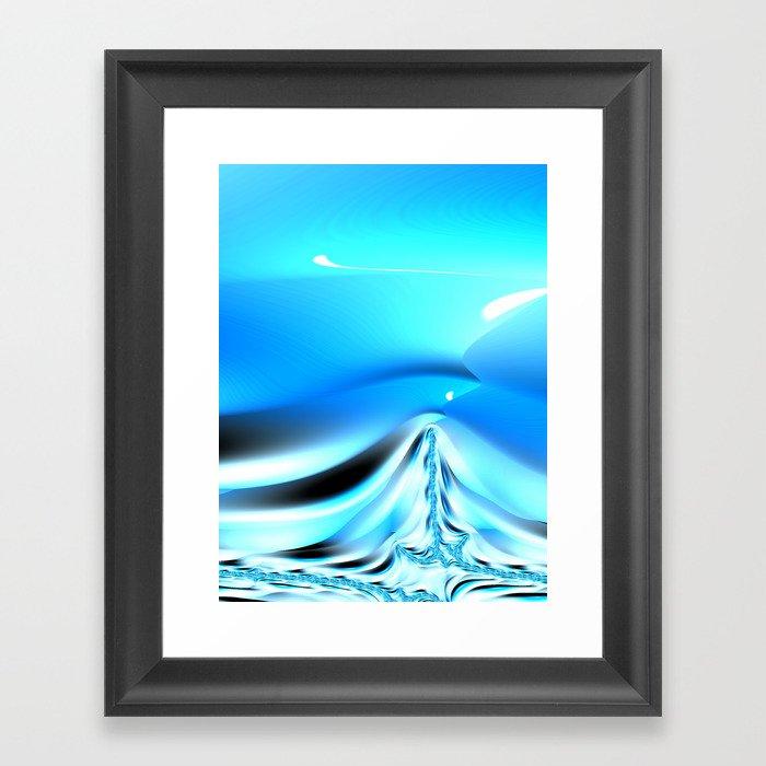 The Blues #3 Framed Art Print