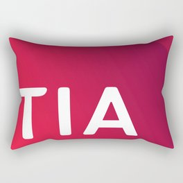 TIA Test Rectangular Pillow