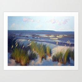 Evening East Beach Art Print