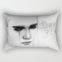 hurt lover Rectangular Pillow
