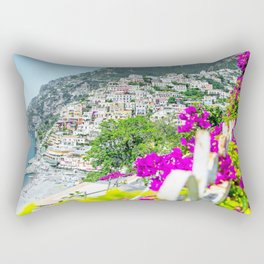 Positano, Amalfi Coast, Italy Rectangular Pillow