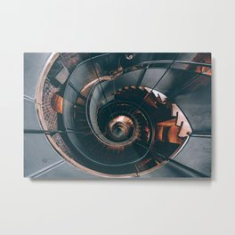 You spin me right round. Metal Print