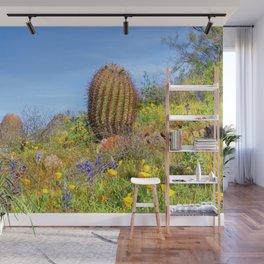 Desert Wildflower Hike 4 Wall Mural