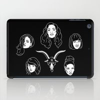 coven iPad Cases featuring The Coven by Flash or Die!