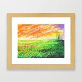 Radioactive Oz Framed Art Print