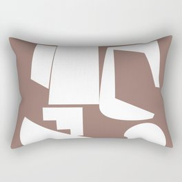 Shape study #17 - Inside Out Collection Rectangular Pillow