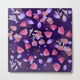 Floral pattern 11 Metal Print