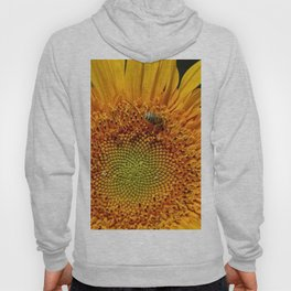 Bee and Dew on Sunflower Hoody