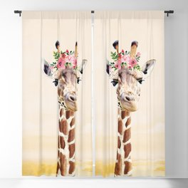 Giraffe Blackout Curtain