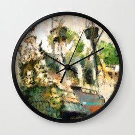 Ship Wrecked Wall Clock