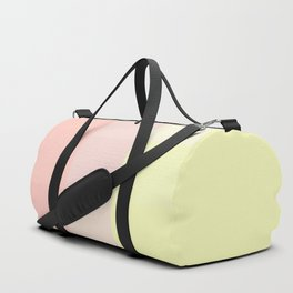 pink and yellow Duffle Bag