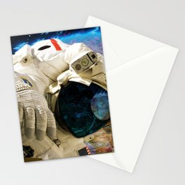 Extra Dimensional Space Walk Stationery Cards