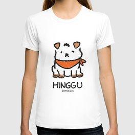 Hinggu_Korea Jindo Dog illustration T-shirt