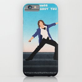 10 Things I Hate About You iPhone Case