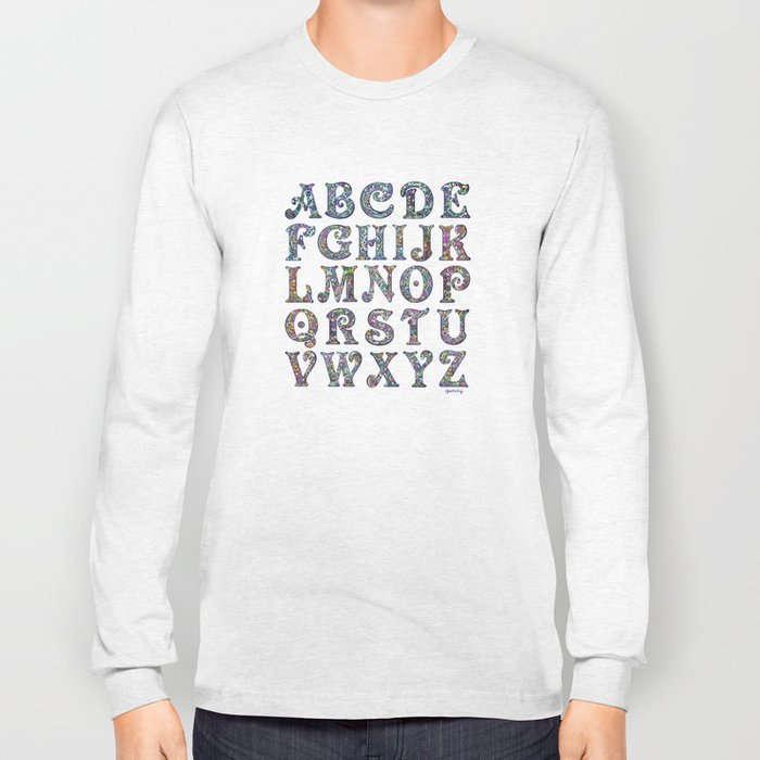 The Alphabet Long Sleeve T-shirt