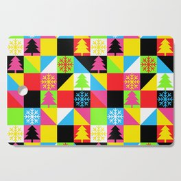 Check Out Christmas Cutting Board