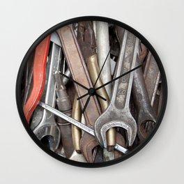 old tools Wall Clock