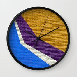 Drawing - Deko 3 Wall Clock