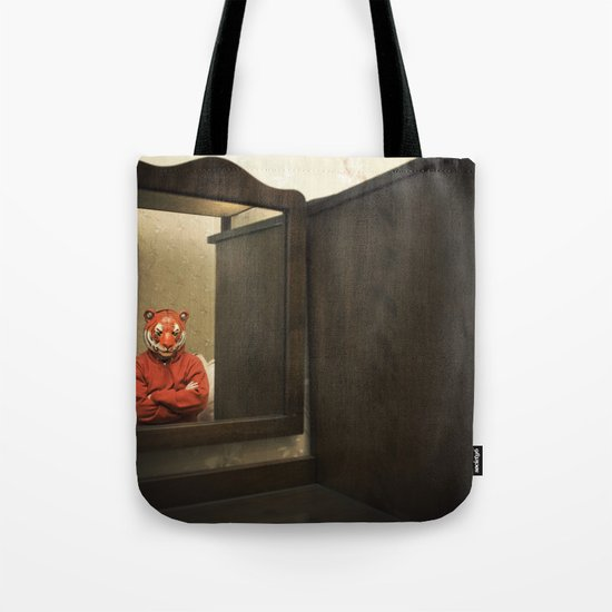 He Waits Silently  Tote Bag