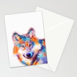 The Faithful - Wolf Stationery Cards