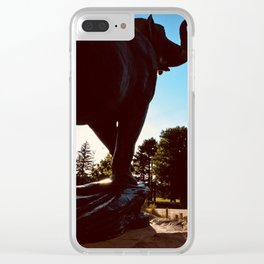 Wild City Clear iPhone Case