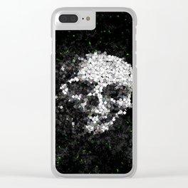 Death Shuffle Clear iPhone Case