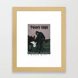 tommy cash tokyo drift Framed Art Print