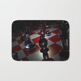 3D Chess Bath Mat