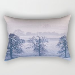 Frosty Day Break Rectangular Pillow