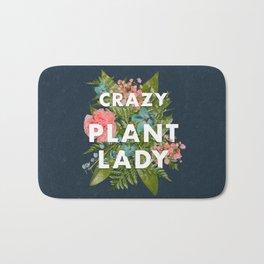 Crazy Plant Lady Bath Mat