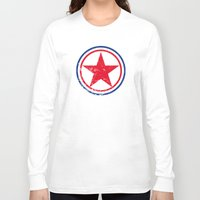 korea Long Sleeve T-shirts featuring North Korea cocarde by Nxolab