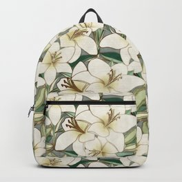 Gilding the Lilies - neutral forest shades Backpack