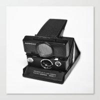 polaroid Canvas Prints featuring Polaroid by Aaron Morris