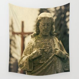 Jesus and Cross Wall Tapestry