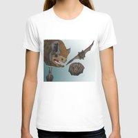 bats T-shirts featuring Bats by Akira Hikawa