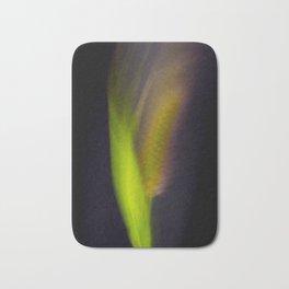 Abstract Bristle Grass-Fleur Blur Series Bath Mat