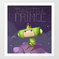 katamari Art Prints featuring Katamari Damacy by Dave Armstrong