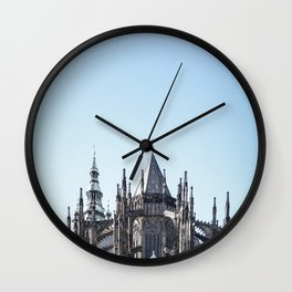 Reaching for the Skies Wall Clock