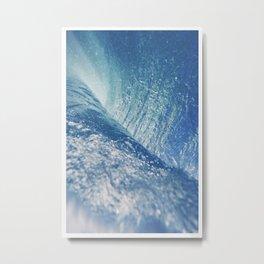 Waves No. 4 Metal Print
