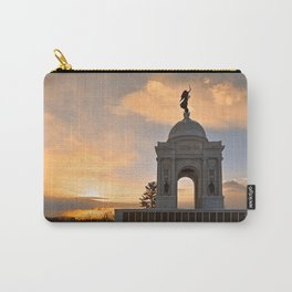Winter Gettysburg Sunrise Carry-All Pouch