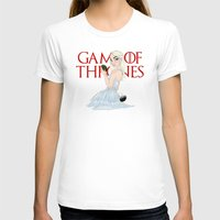 mother of dragons T-shirts featuring Mother of The Dragons by Guilherme Mauad