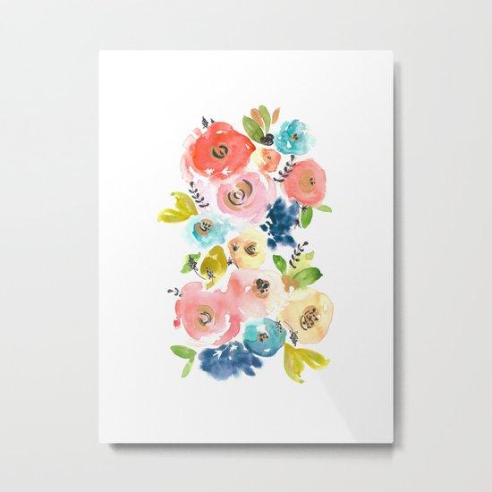 Floral POP #2 Metal Print